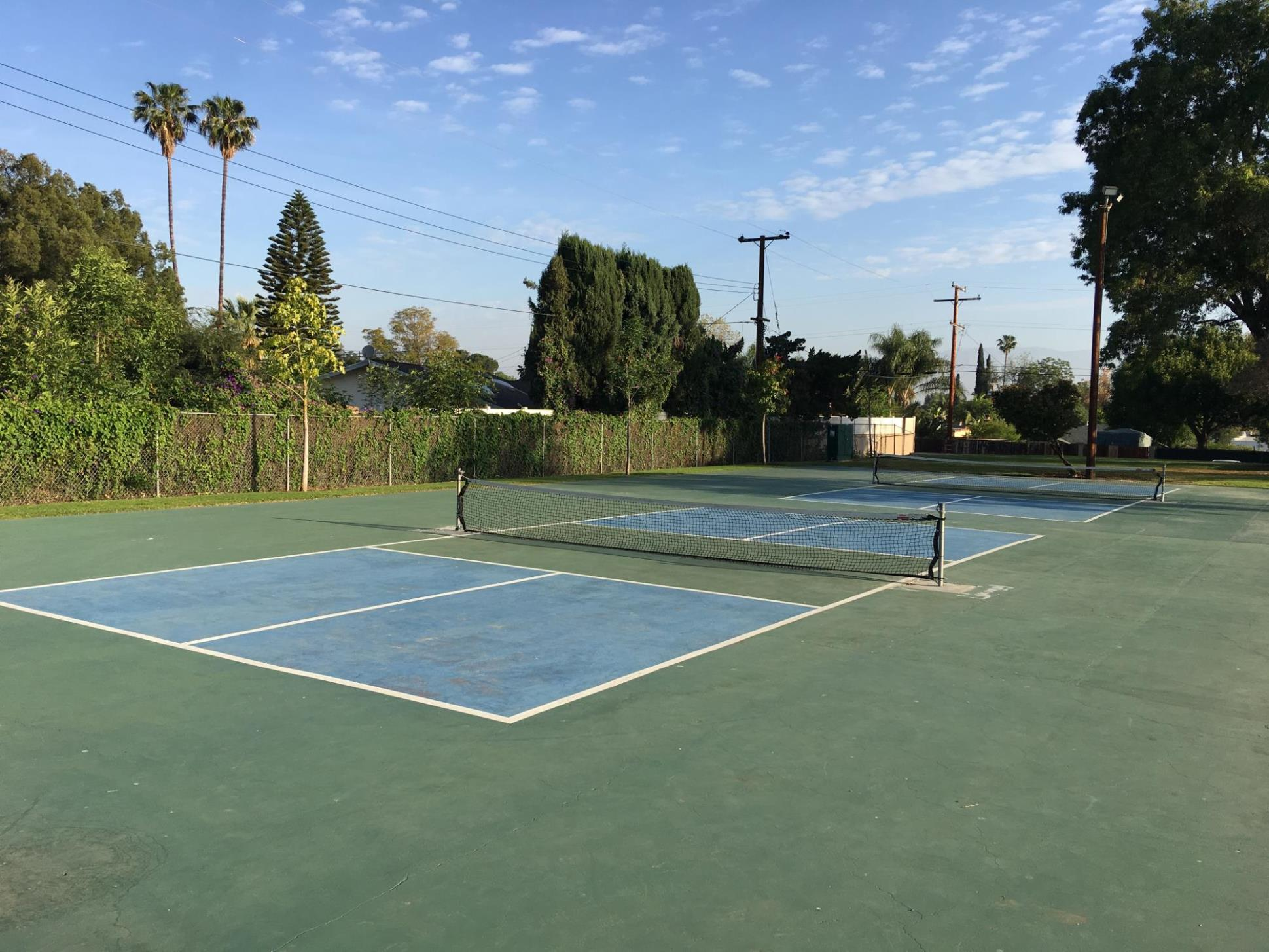 Husted Park pickleball courts