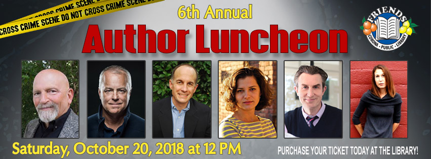 Author Lunch banner
