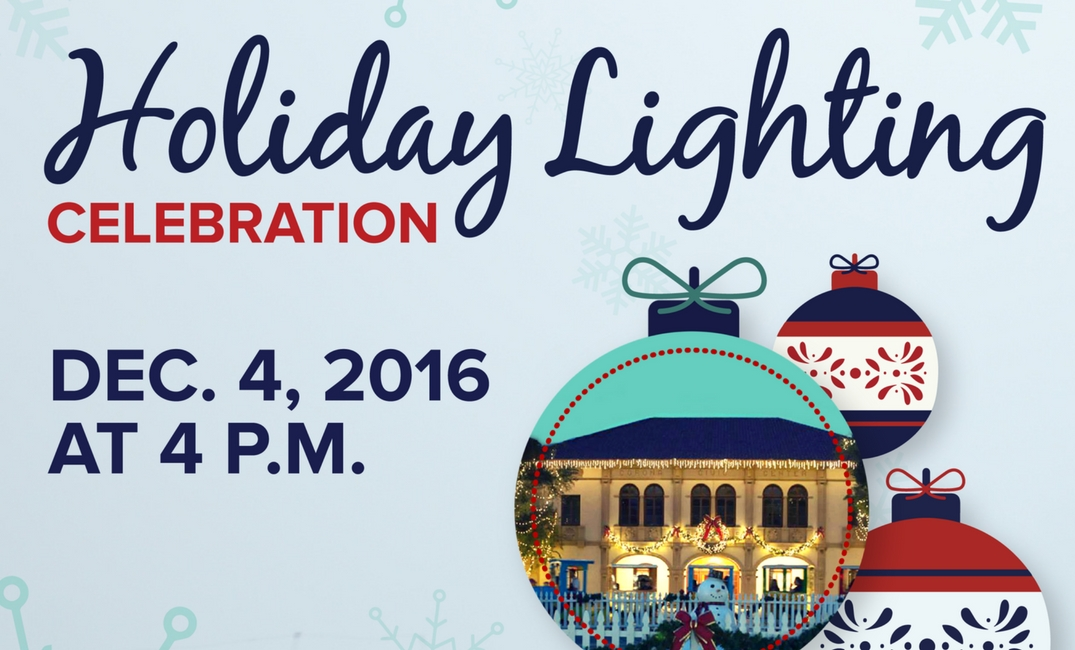 Holiday Lighting Celebration
