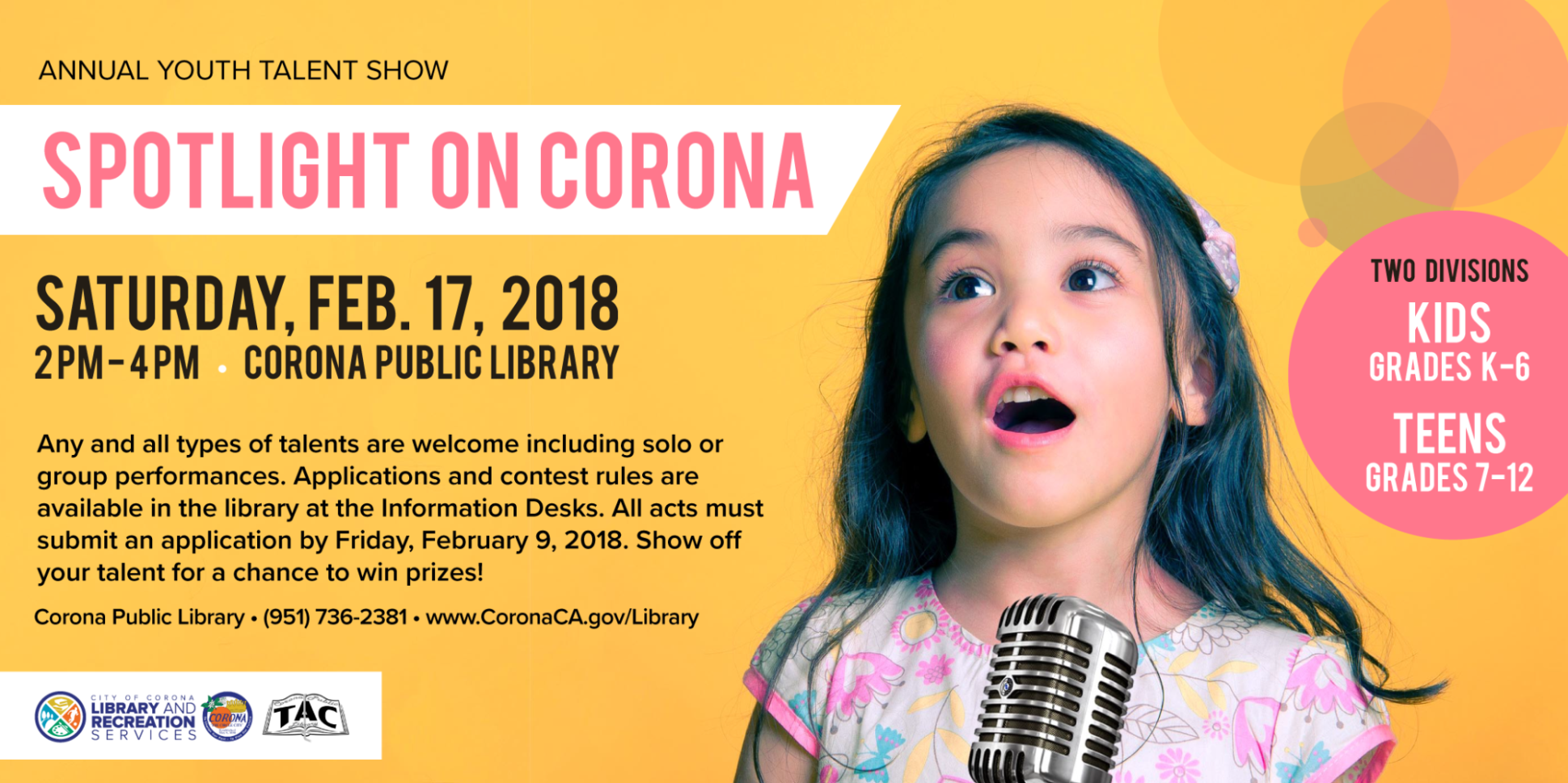 Spotlight on Corona 2018