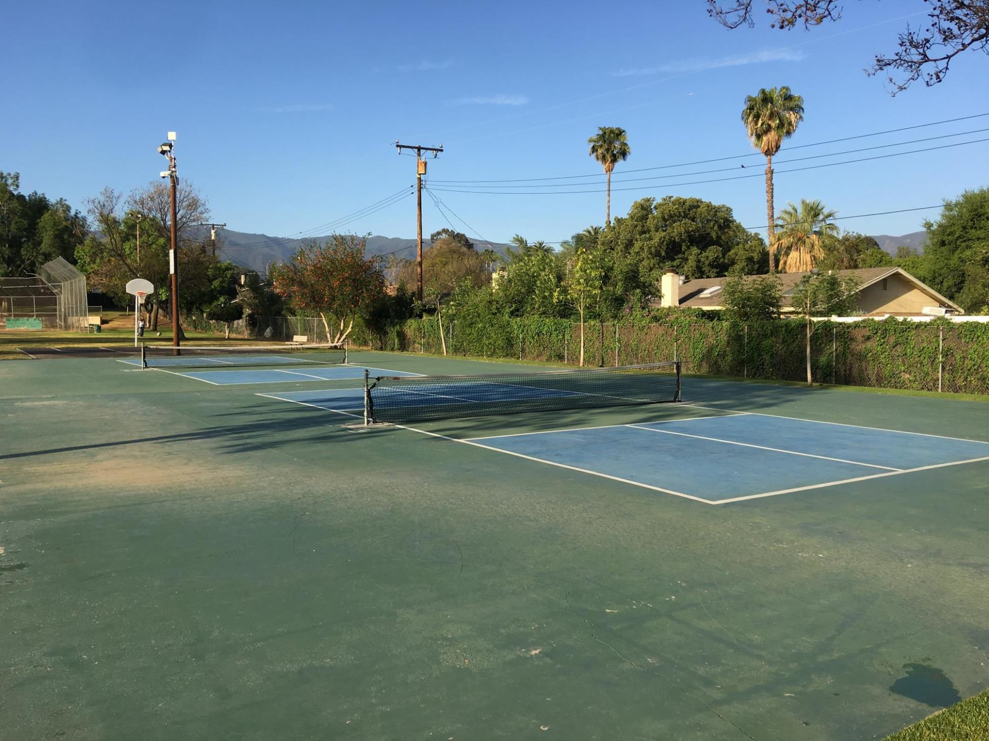 husted park pickle ball courts