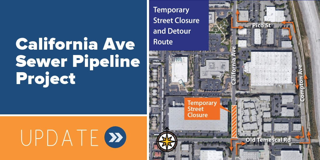 12/7/2018:  CALIFORNIA AVENUE SEWER PIPELINE PROJECT