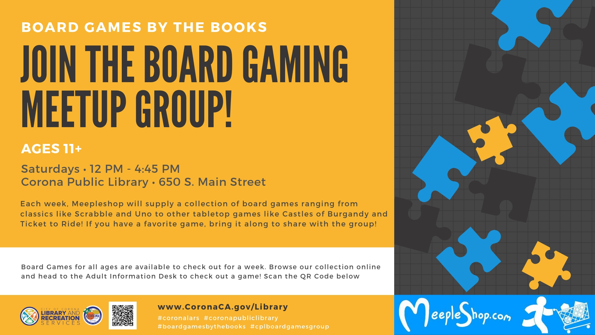 Board Gaming Meetup Group