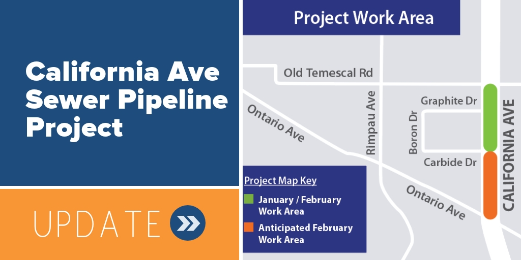 California Avenue Sewer Pipeline Project Update