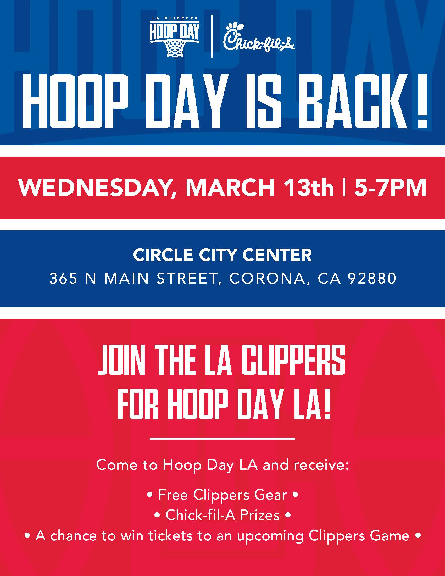 Hoop Day Activation at Circle City Center