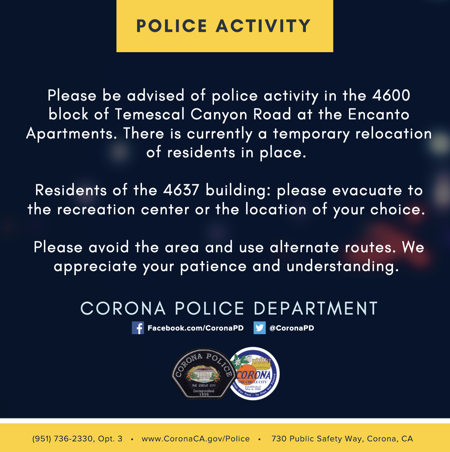 Police Activity