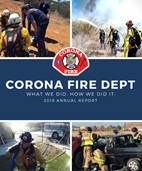 Corona Fire Department 2018 Annual Report