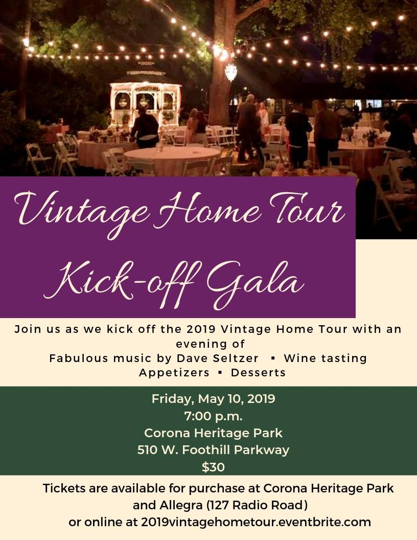 Vintage Home Tour Kick-Off Gala