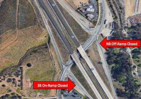 Temescal Canyon Off and On-Ramp Closed on I-15 Tomorrow | Inner