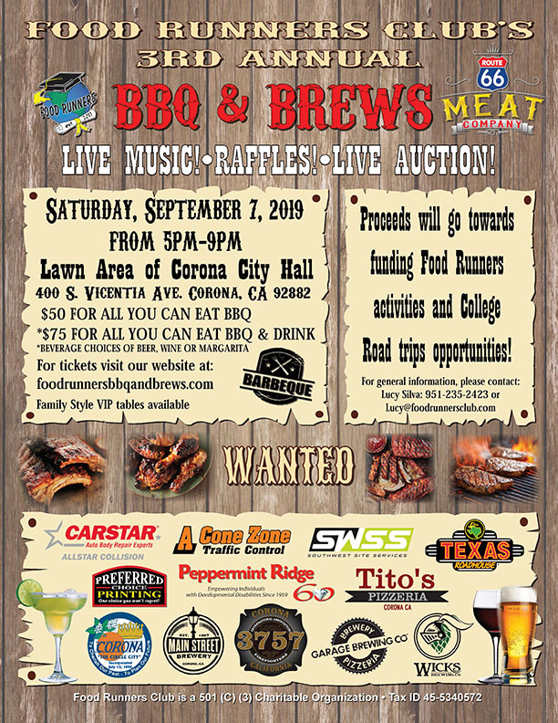 BBQ and Brew Flyer