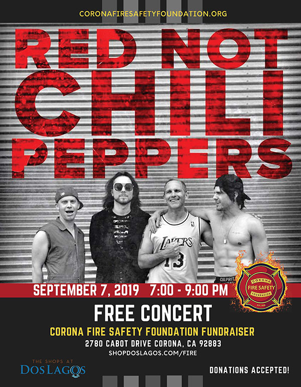 Red Not Chile Peppers Concert