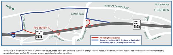 August 29: Cajalco Road / I-15 Interchange Improvement