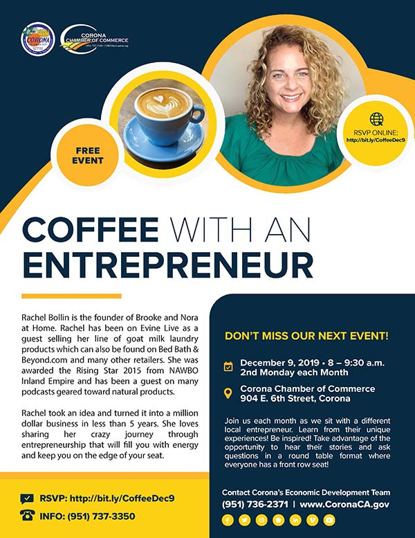 Coffee with an Entrepreneur December