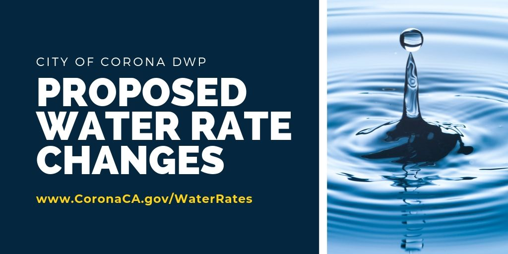 Proposed Water Rate Changes