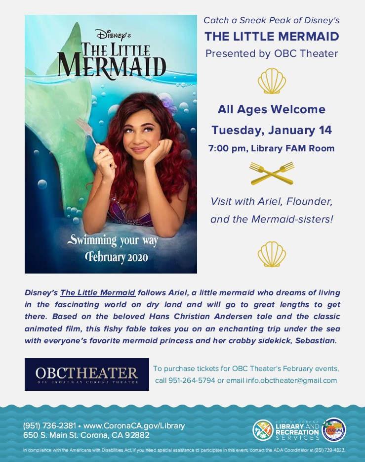 The Little Mermaid OBC Theater