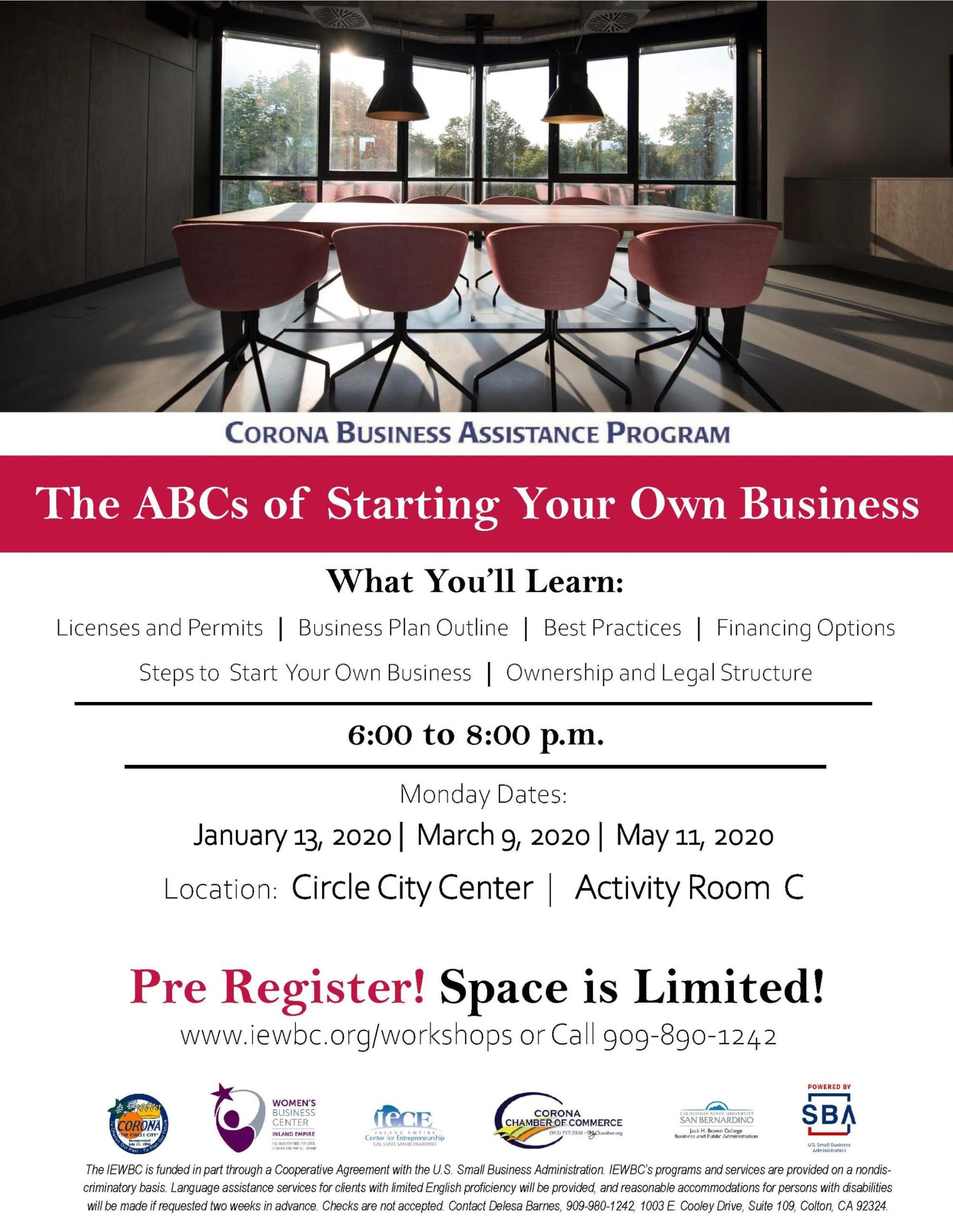 The ABCs of Starting Your Own Business