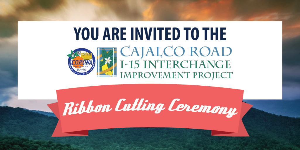 Cajalco Ribbon Cutting