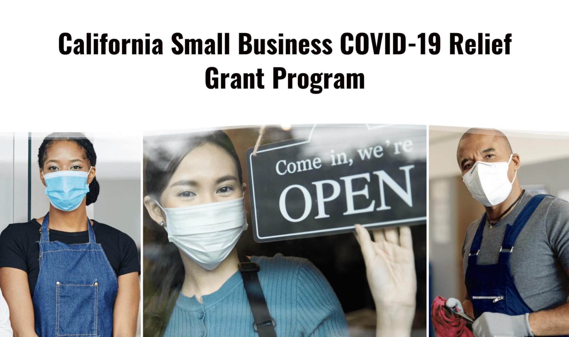 COVID SB Relief Grant