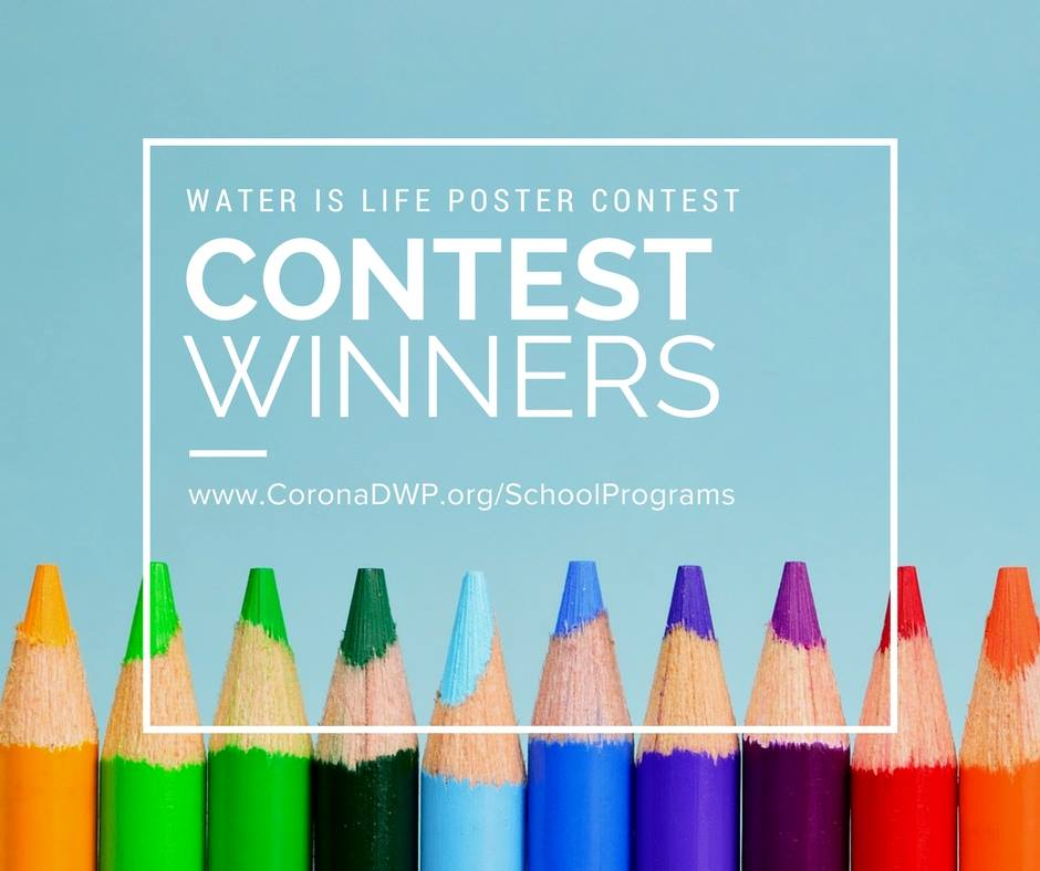 DWP Water Poster Contest Winners