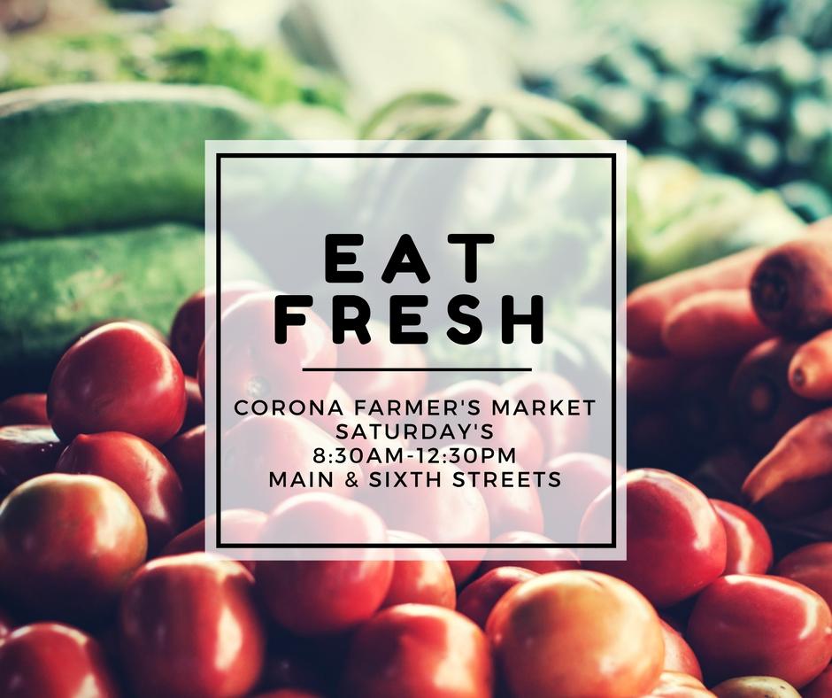 Corona Farmer's Market | Business Events | City of Corona