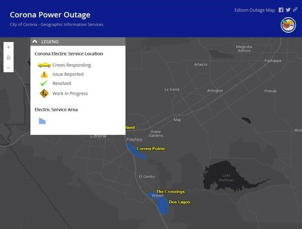 Power Outage Map Allows Customers to View Service Response in Real on
