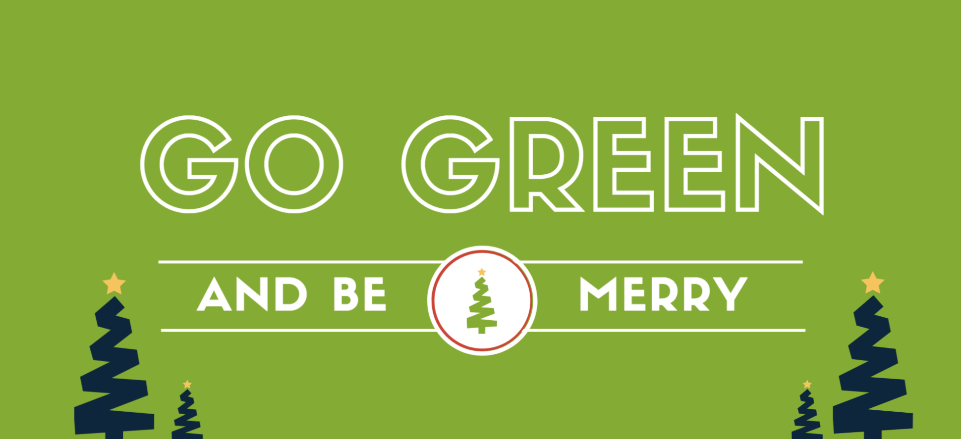Go Green & Be Merry