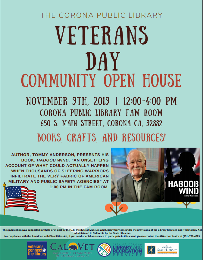 Veterans Day Community Open House 2019