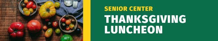 Thanksgiving Luncheon Header